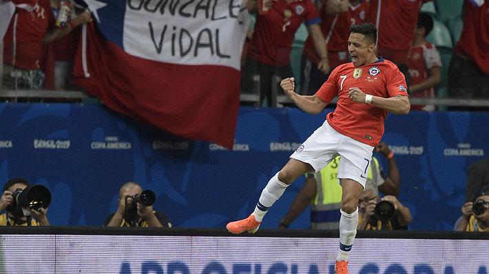 Chile se sacudió a tiempo ante Ecuador y consiguió un triunfo que lo clasificó y lo dejó líder de su grupo en la Copa América