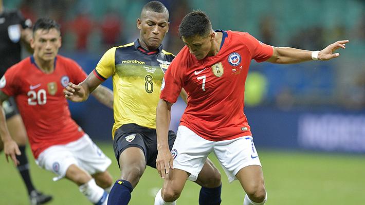 Igual que en el debut: Alexis Sánchez fue elegido el mejor jugador del partido ante Ecuador por Copa América