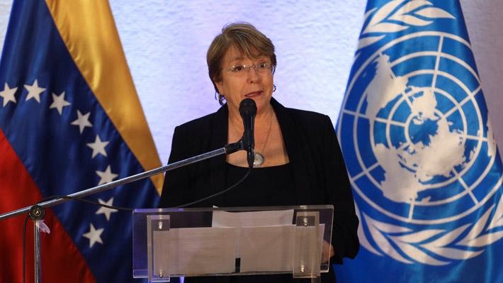 Bachelet culmina su visita a Venezuela: Llama a liberar presos políticos y anuncia que equipo de DD.HH. se quedará en el país