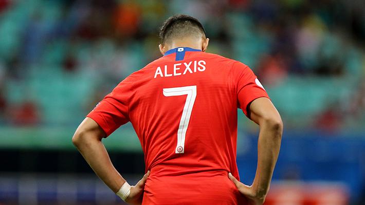 Prensa española aseguró que Alexis Sánchez está en la rampa de salida del United