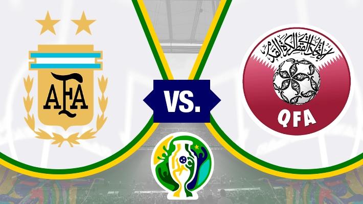 Repasa la victoria de Argentina ante Qatar