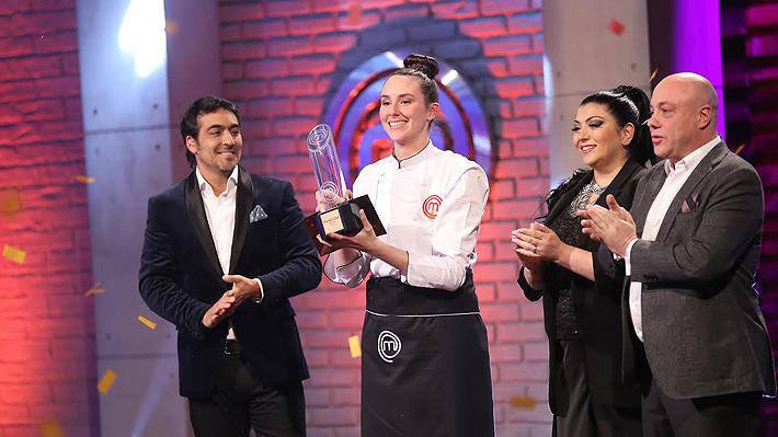 Camila Ruiz se corona como vencedora de MasterChef Chile: se llevó $25 millones y el trofeo de Mejor Cocinera Amateur
