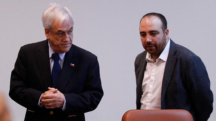 """Chahín asegura que presencia de Piñera en firma de acuerdo fue """"un poquito incómoda"""": """"Apareció de repente"""""""