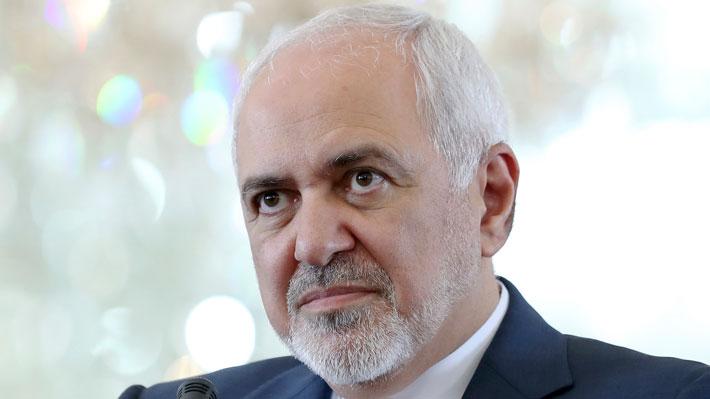 """Canciller de Irán responde ante sanciones y asegura que quienes rodean a Trump tienen """"sed de guerra"""""""