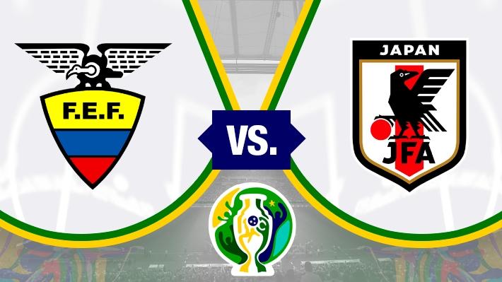 Repasa la igualdad entre Ecuador y Japón en la Copa América