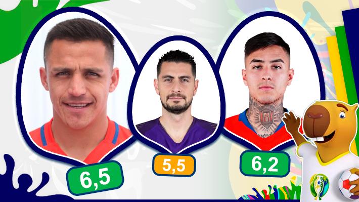 """Alexis el mejor: Análisis uno a uno de la """"Roja"""" en la derrota ante Uruguay en la Copa América"""