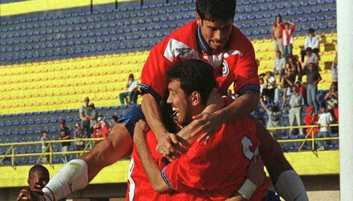 Haciendo memoria: El infartante triunfo de Chile ante Colombia con Pedro Reyes como figura en la Copa América 1999