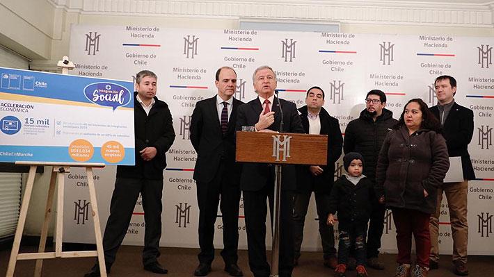 """Gobierno anuncia entrega de 15 mil nuevos subsidios habitacionales para """"impulsar la actividad económica"""""""