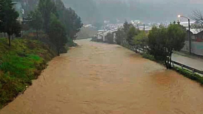 Intendente del Biobío entrega balance por lluvias: 42 viviendas afectadas en la región