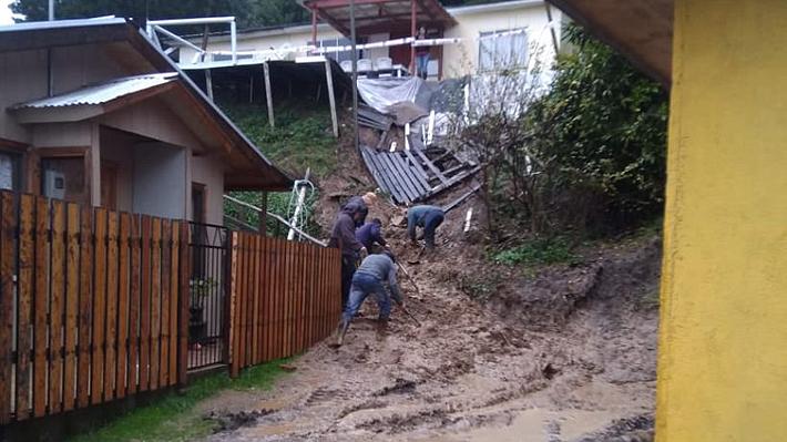 Sistema frontal: Declaran Alerta Roja para Concepción por desborde del río Andalién