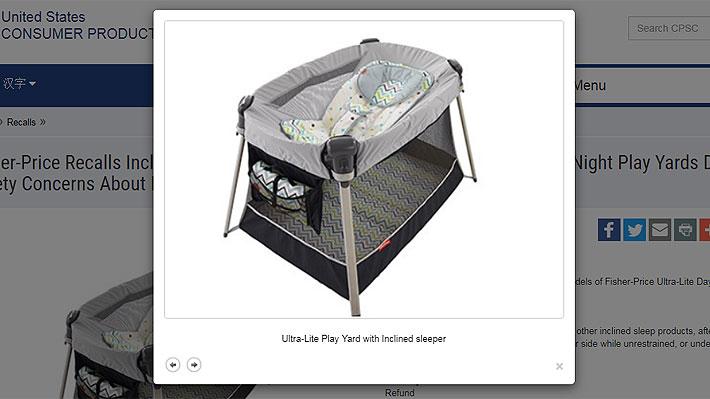 43458f4a4 Marca de productos infantiles retira del mercado accesorio para dormir  incluido en corralitos para niños