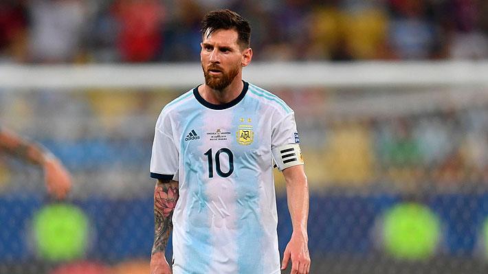 """Messi hace autocrítica por su nivel y califica como """"vergüenza"""" el estado de las canchas en Copa América"""