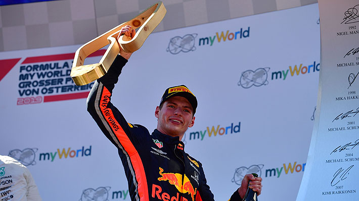 Fórmula Uno: Verstappen tuvo una épica arremetida sobre el final y se quedó con el Gran Premio de Austria