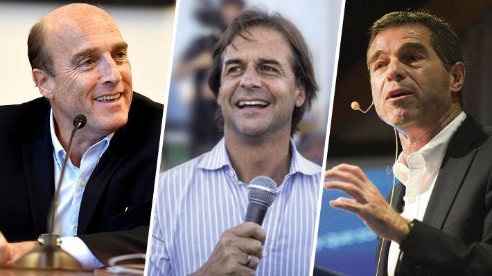 Elecciones internas en Uruguay: 72,6% escrutado da como ganadores a Daniel Martínez, Luis Lacalle Pou y Ernesto Talvi