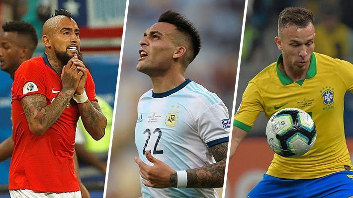 Vidal y Aránguiz en Chile: Los jugadores de los semifinalistas que están a una amarilla de perderse la eventual final de la Copa