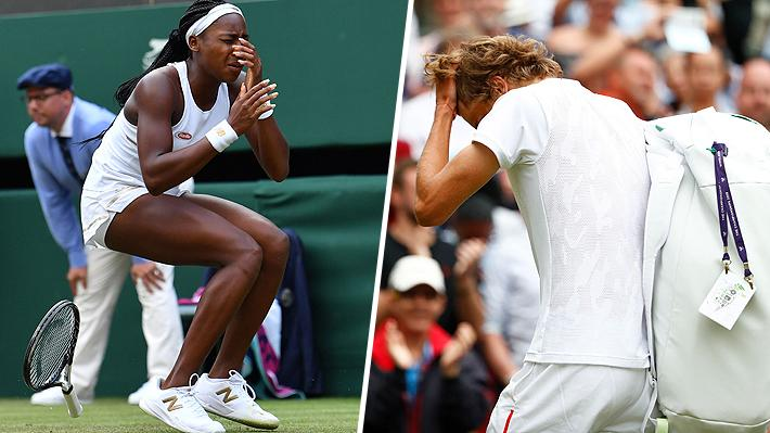Hubo 4 grandes sorpresas e incluso jugadora de 15 años venció a una histórica: Los resultados de la jornada en Wimbledon
