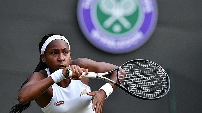 Cori Gauff, la adolescente de 15 años que es representada por Federer y que eliminó a Venus Williams en Wimbledon