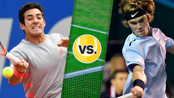 Repasa la caída de Garin ante Rublev en la primera ronda de Wimbledon
