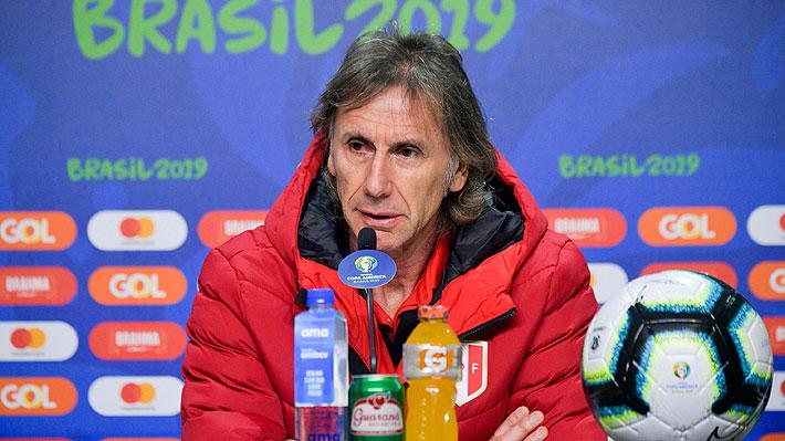 Gareca explica cómo ha crecido Perú y por qué es un equipo muy distinto al que Chile venció en la semifinal de 2015