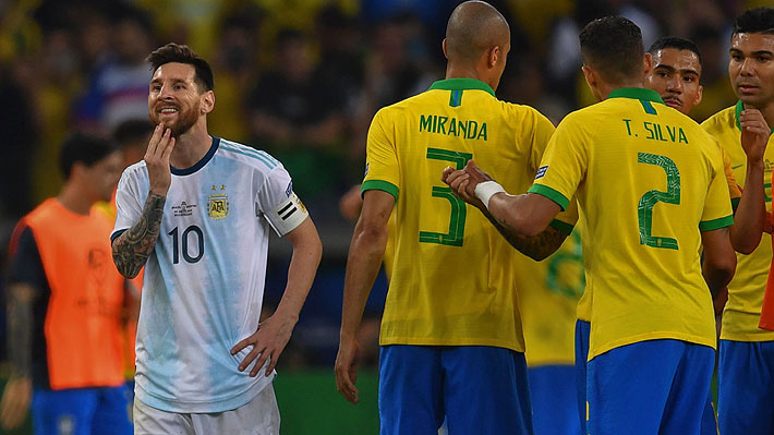 """Messi tendrá que seguir esperando... Brasil derrota a Argentina, es finalista de """"su"""" Copa América y espera por Chile o Perú"""