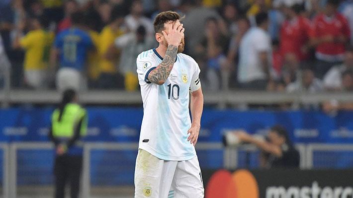 """Messi explota y apunta contra el VAR: """"Ojalá la Conmebol haga algo, aunque no creo que haga nada porque maneja todo Brasil"""""""