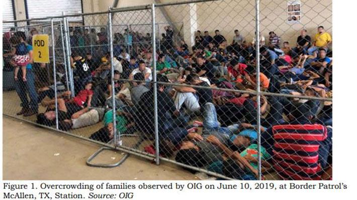 """Organismo gubernamental reconoce """"peligroso"""" hacinamiento y detención prolongada en centros de migrantes en EE.UU."""