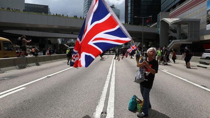 Las rencillas entre China y Reino Unido por el estatus de Hong Kong que reviven tras las protestas en la isla