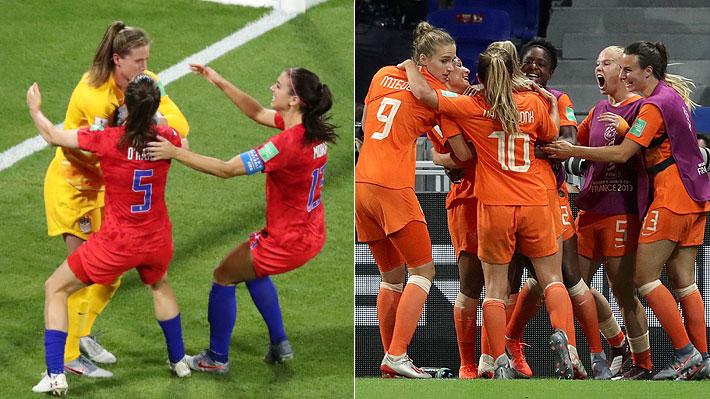 Holanda y Estados Unidos avanzan a la final y pelearán por el título del Mundial Femenino de Francia