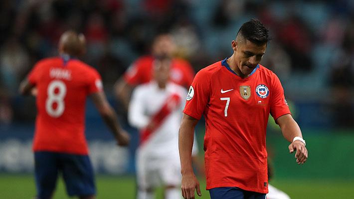 Fin al sueño del tricampeonato: Chile pierde con Perú y se queda fuera de la final de la Copa América