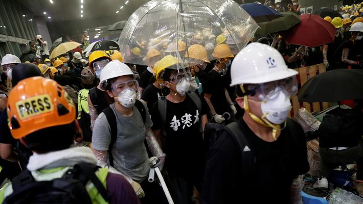 Detienen en Hong Kong a supuestos implicados en protestas: arriesgan 10 años de cárcel