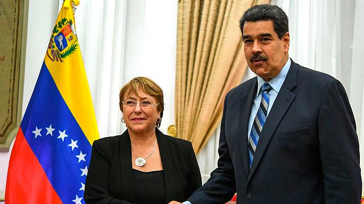 """Informe de Bachelet sobre Venezuela pide a Maduro detener las """"graves vulneraciones"""" a los DD.HH."""