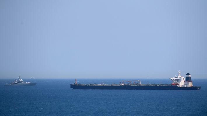Irán exige al Reino Unido la liberación inmediata de buque petrolero interceptado en Gibraltar