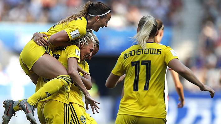 Suecia le ganó a Inglaterra y se quedó con el tercer lugar del Mundial Femenino