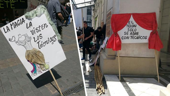 """Trabajadores del Teatro Municipal denuncian """"situación de insolvencia"""": Acusan malos tratos, despidos y deudas"""