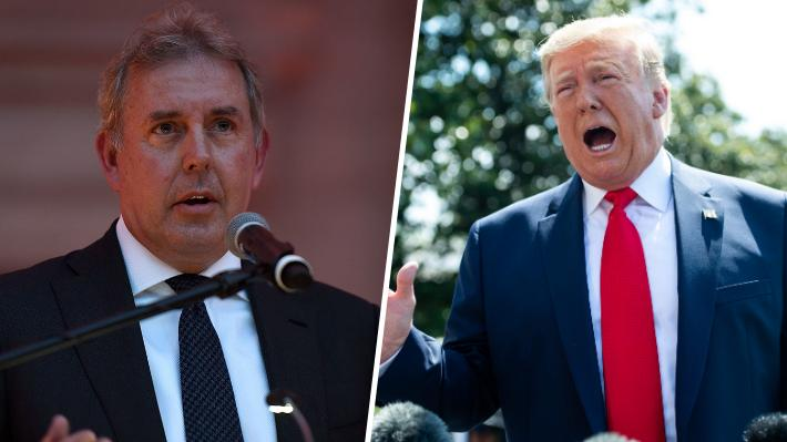 """Prensa inglesa asegura que embajador británico en EE.UU. calificó como """"inepto"""" a Trump y su administración"""