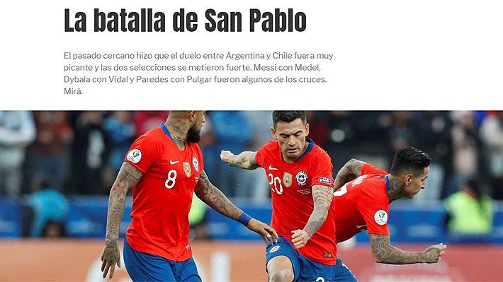 """Así lo vio el mundo: """"Fue un duelo picante"""", """"partidazo con polémicas"""" y """"Argentina se impuso en la batalla"""""""