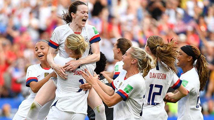 Estados Unidos se coronó campeón del  Mundial Femenino por segunda vez consecutiva