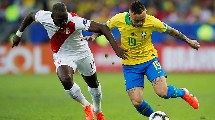 Mira los goles con los que Brasil venció a Perú en la final de la Copa América y el llanto de Gabriel Jesús tras su expulsión