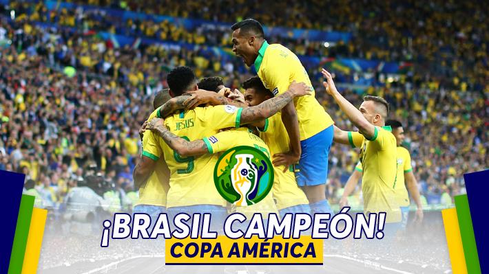 Brasil agranda su historia: Derrota a Perú y sucede a Chile como nuevo campeón de América