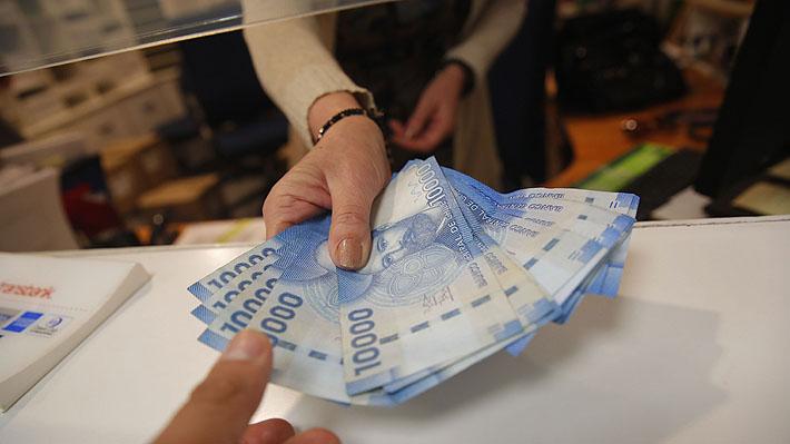 Salario promedio en Chile llega a $819 mil y anota menor crecimiento desde 2010
