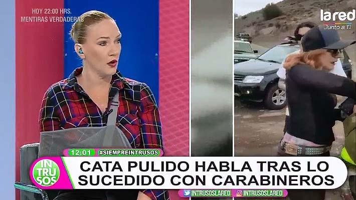 """Catalina Pulido asegura que quedó con """"lesiones graves"""" tras detención de Carabineros: """"Fue una especie de redada"""""""