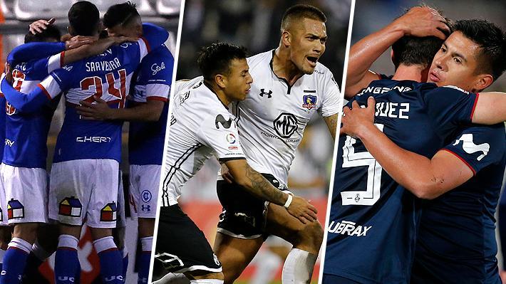 Colo Colo, la U y Católica siguen en carrera: Las llaves de octavos y lo que queda por definirse en la Copa Chile