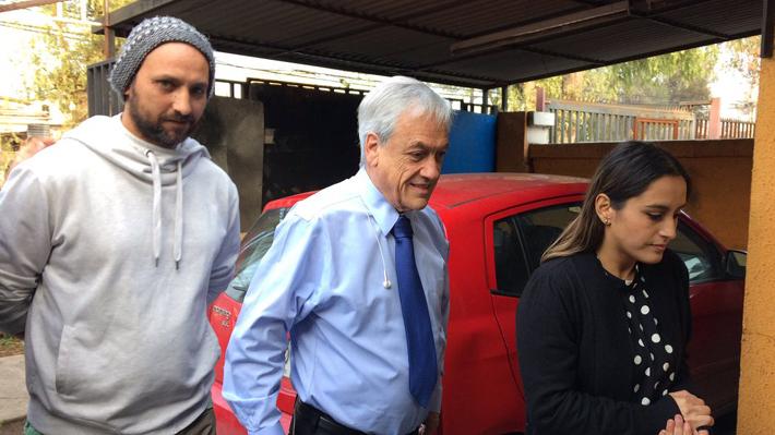 Piñera visita a familia que sufrió problemas con arrendatario y anuncia envío de proyecto para cambiar actual ley