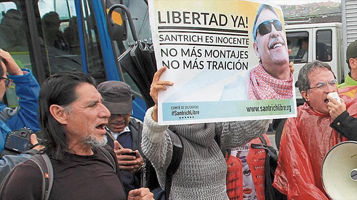 """La historia oculta de """"Daniel"""", el chileno que gestó la fuga del ex líder de las FARC Jesús Santrich"""
