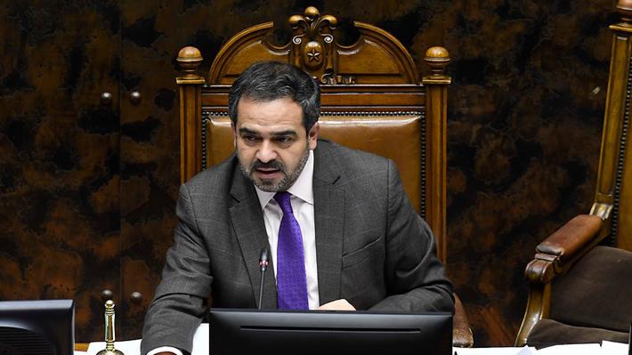 Presidente del Senado dice que no están los votos para aprobar a Repetto y negocia con el Gobierno aplazar el proceso