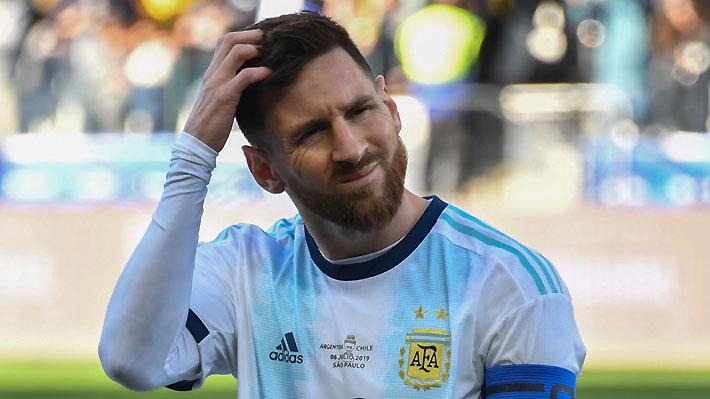 Revelan el doble castigo que recibiría Messi tras polémicos y potentes dichos contra la Conmebol