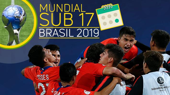 Chile debutará ante Francia: Conoce los grupos y el calendario de todos los partidos del Mundial Sub 17