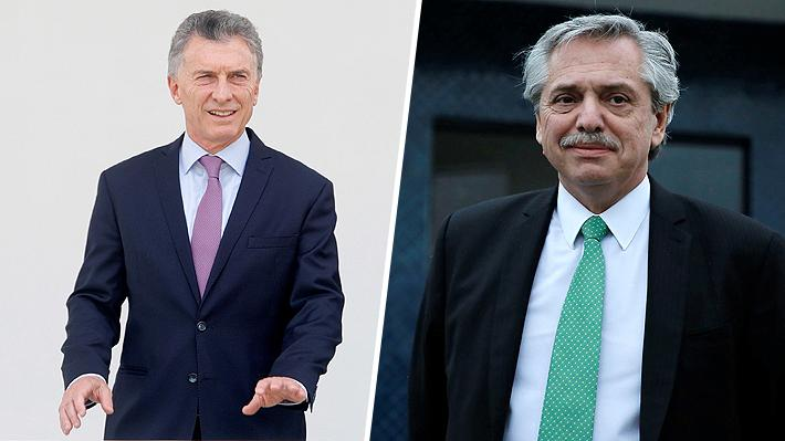 Dura pelea en Argentina: Encuesta pronostica un empate técnico entre Macri y Fernández