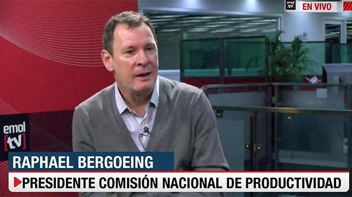 """Bergoeing y las """"cuatro razones"""" de por qué la política """"tiene serias dificultades para implementar reformas pro productividad"""""""