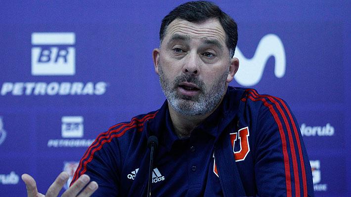 """La U presentó a Caputto como jefe del fútbol formativo y reconoce """"completo acuerdo"""" con Osvaldo González"""